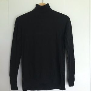 Heavy Black Turtleneck from Target